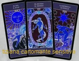 TIZIANA CARTOMANTE SENSITIVA  - Cartomanzia in diretta  telefonica