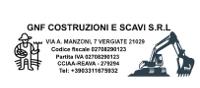 GNF COSTRUZIONI E SCAVI S.R.L. - Vendite di macchine movimento terra, automobili e auto usate